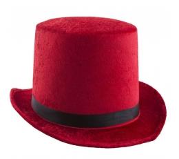 """Kepurė """"Cilindras"""" / raudonas"""