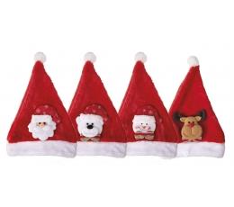 """Kepurė """"Kalėdų veidukai"""", vaikiška"""