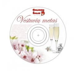 """Kompaktinis diskas """"Vestuvių metas"""""""