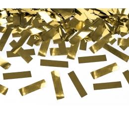 """Konfeti patranka """"Aukso blizgis"""" (60 cm)"""