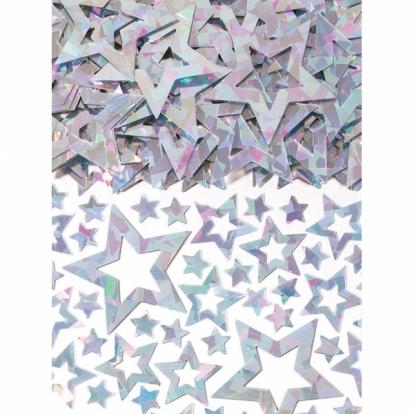 """Konfeti """"Perlamutrinės žvaigždutės"""" (14 g)"""