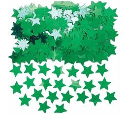 """Konfeti """"Žalios  žvaigždės"""""""