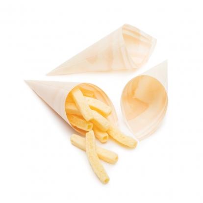 Kūginės formelės, bambukinės (25 vnt./12 cm)