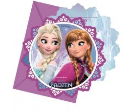 "Kvietimai  ""Frozen"" (6 vnt.)"