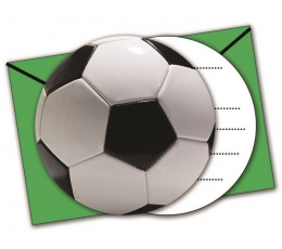 "Kvietimai ""Futbolas"" (6 vnt.)"