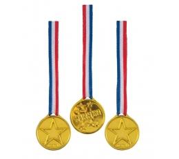 Laimėtojo medaliai (5 vnt.)