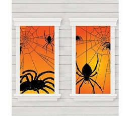 "Langų dekoracijos-plakatai ""Vorai"" (2 vnt./85x165 cm)"
