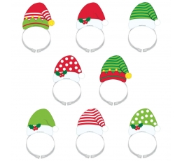 """Lankeliai """"Kalėdų senelis ir Elfai"""" (8 vnt.)"""