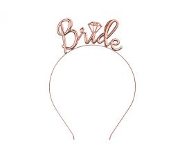 """Lankelis """"Bride"""", rožinio aukso spalvos"""