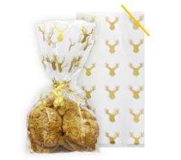"""Lauktuvių maišeliai """"Auksiniai elniai"""" (20 vnt.)"""