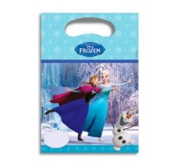 "Lauktuvių maišeliai ""Frozen"" (6 vnt./23x16 cm)"