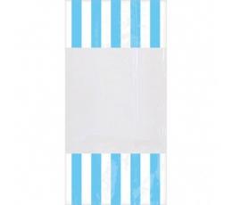 """Lauktuvių maišeliai """"Melsvi dryžiai"""" (10 vnt./27x 8 cm)"""