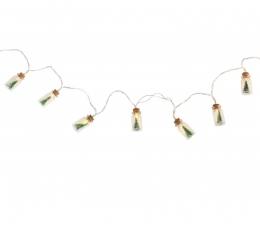 "LED girlianda ""Kalėdiniai buteliukai"" (2x4 cm x 110 cm) 0"