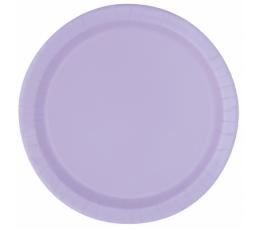 Lėkštutės, alyvinės (8 vnt./18 cm)