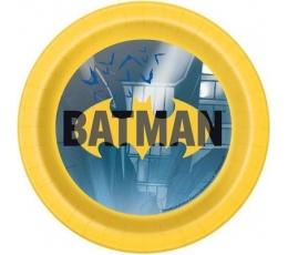 "Lėkštutės ""Betmenas"" (8 vnt./17 cm)"