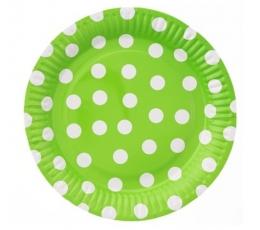 """Lėkštutės """"Burbuliukai"""", salotinės (6 vnt./23 cm)"""