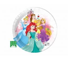 """Lėkštutės """"Disney princesės"""", kompostuojamos (8 vnt./23 cm)"""