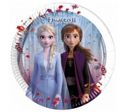 "Lėkštutės ""Frozen 2"" (8 vnt./20 cm)"