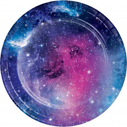 """Lėkštutės """"Galaktika (8 vnt./17 cm)"""