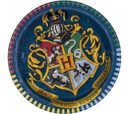 """Lėkštutės """"Haris Poteris"""" (8 vnt./17 cm)"""