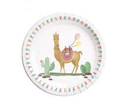 "Lėkštutės ""Lama"" (8vnt./23 cm)"