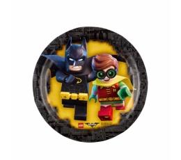 """Lėkštutės """"Lego Batman"""" (8 vnt./18 cm)"""