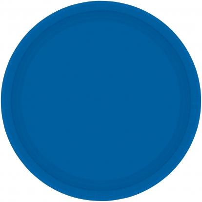 Lėkštutės, mėlynos (8 vnt./17 cm)