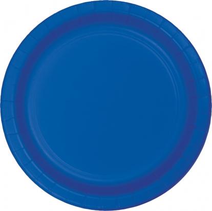 Lėkštutės, mėlynos (8 vnt./22 cm)