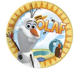 "Lėkštutės ""Olafas"" (8 vnt./ 23 cm)"