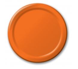 Lėkštutės, oranžinės (8 vnt./22 cm)