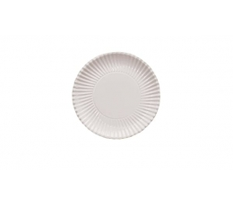 Lėkštutės-padėkliukai, balti (10 vnt./ 23 cm)