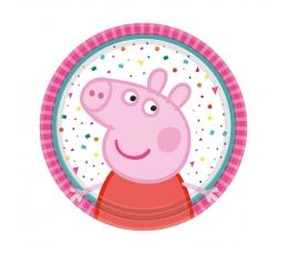 """Lėkštutės """"Peppa Pig"""" (8 vnt./18 cm)"""