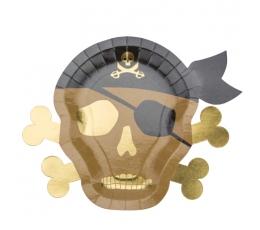 """Lėkštutės """"Piratai"""" (8 vnt./26 cm)"""