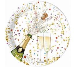 """Lėkštutės """"Šampanas"""" (8vnt./23 cm)"""