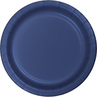 Lėkštutės, tamsiai mėlynos (24 vnt./22 cm)