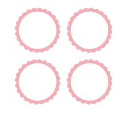 Lipdukai, rožiniai (20 vnt.)
