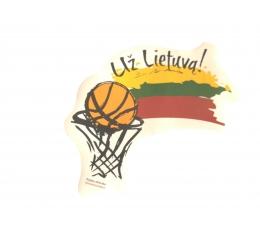 """Lipdukas """"Už Lietuvą"""" (10 vnt.)"""
