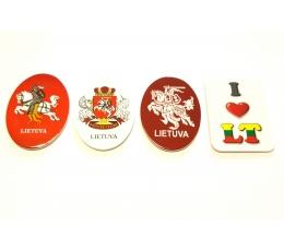 Lietuviški magnetai (plastikiniai)