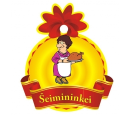 "Medalis ""Šeimininkei"" (9cm.)"