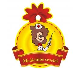 "Medalis""Medicinos seselei"" (9cm.)"