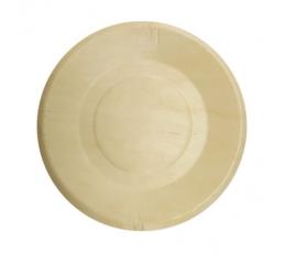 Medinės lėkštutės (4 vnt./19 cm)
