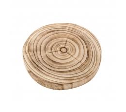 Medinis padėklas-ripka (23x3 cm)