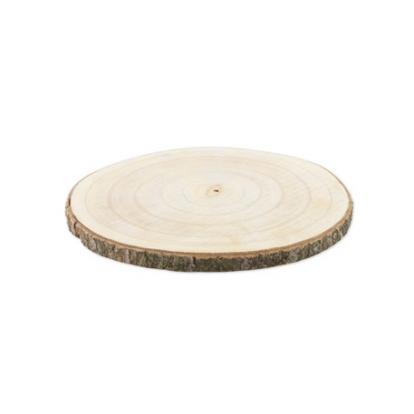Medinis padėklas-ripka (30 cm)