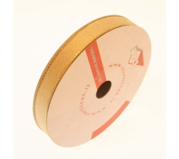 Medžiaginė juostelė auksinė (15mm x50m. )