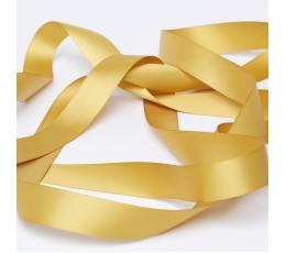 Medžiaginė juostelė, auksinė (25 mm. x 45 m.)