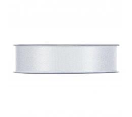 Medžiaginė juostelė, sidabrinė blizgi (25 mm. x 25 m.)