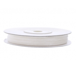 Medžiaginė permatoma juostelė/balta (3mm./50m.)