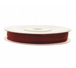 Medžiaginė permatoma juostelė/bordo (3mm./50m.)