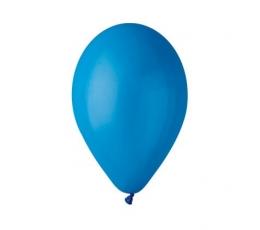 Mėlyni skaidrūs balionai (10vnt./28 cm.)