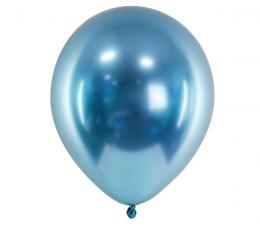 Metalizuotas balionas, melsvas (30 cm)